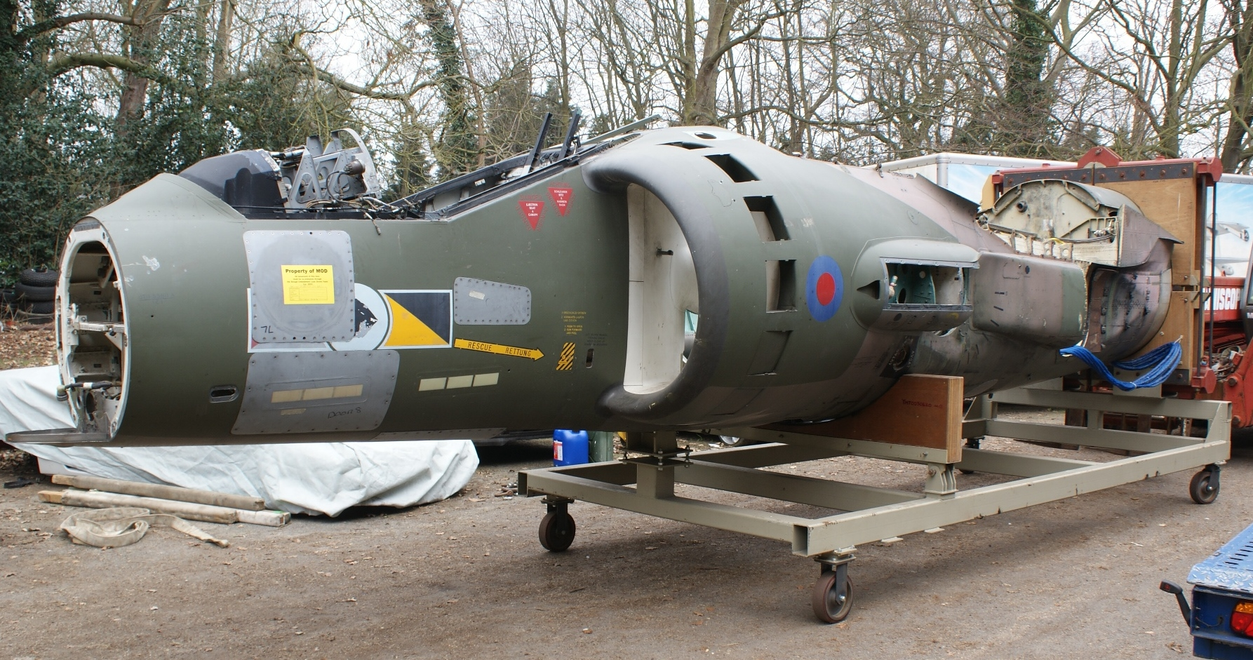 Harrier GR5 ZD353 When Purchased