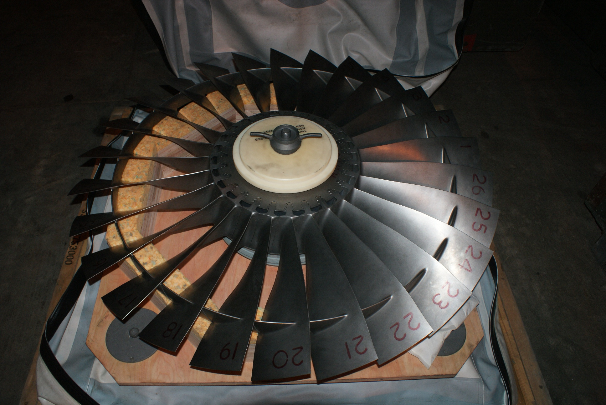 PEGASUS FIRST STAGE FAN MODULE