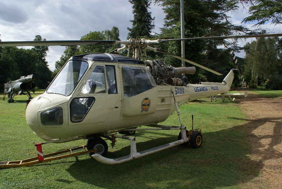 Westland Scout AH1 5X UUX Post Restoration By Everett Aero