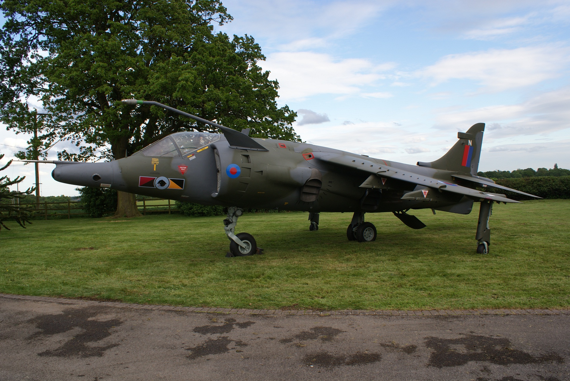 Harrier GR3 XV783 Post Restoration By Everett Aero