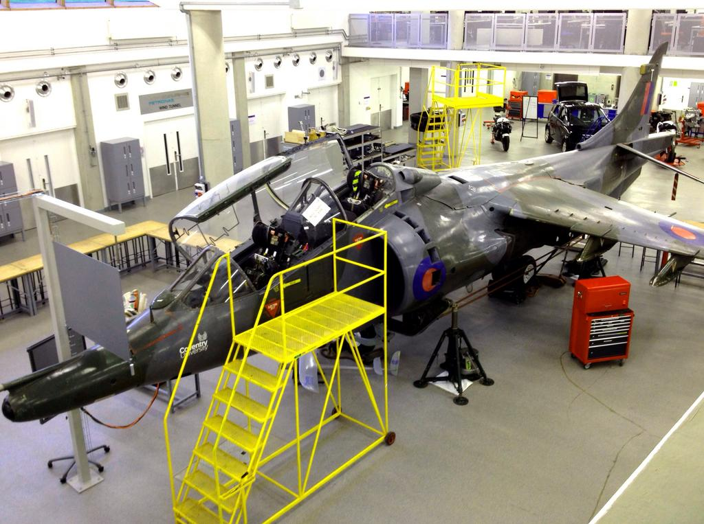 Harrier T4 XW270 Post Restoration By Everett Aero