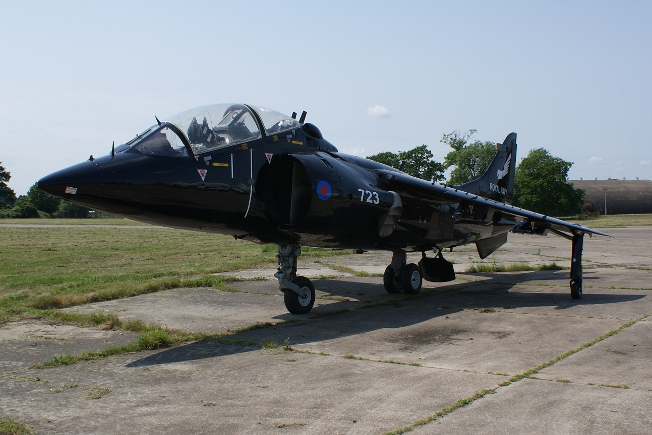 Harrier T4 XZ145 Post Restoration By Everett Aero