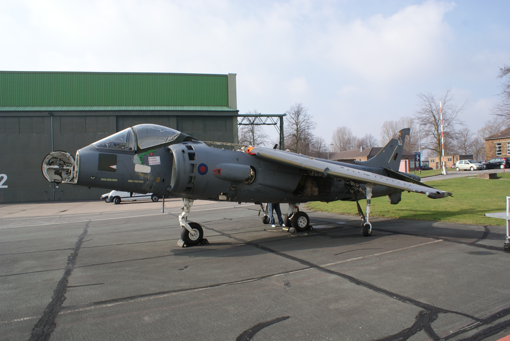 Harrier GR7 ZD462 When Purchased