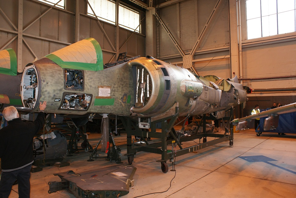 Harrier GR7 ZG509 When Purchased