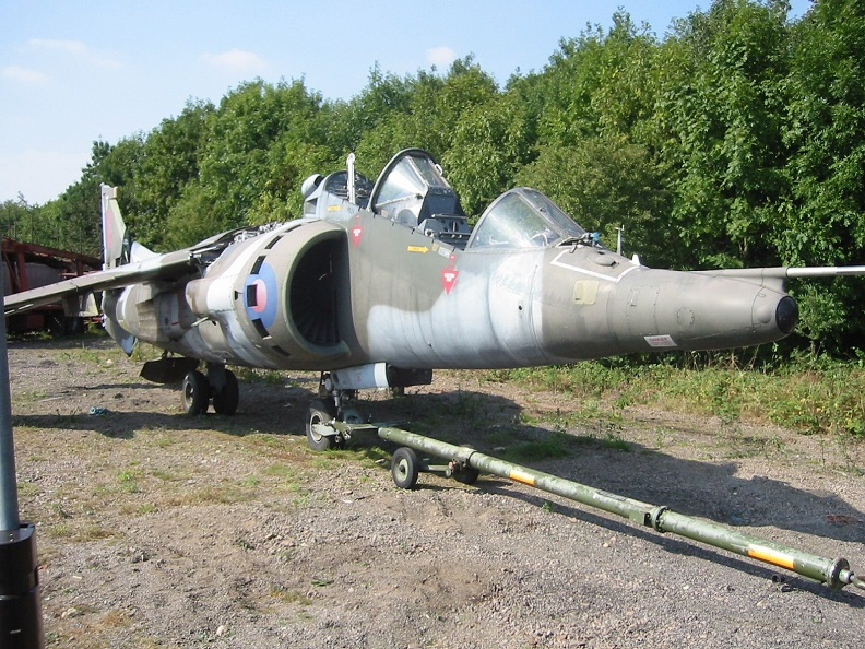 Harrier T4 XW270 When Purchased